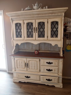 Completed hutch