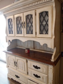 Completed hutch.