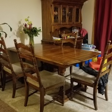 Hutch and Table BEFORE