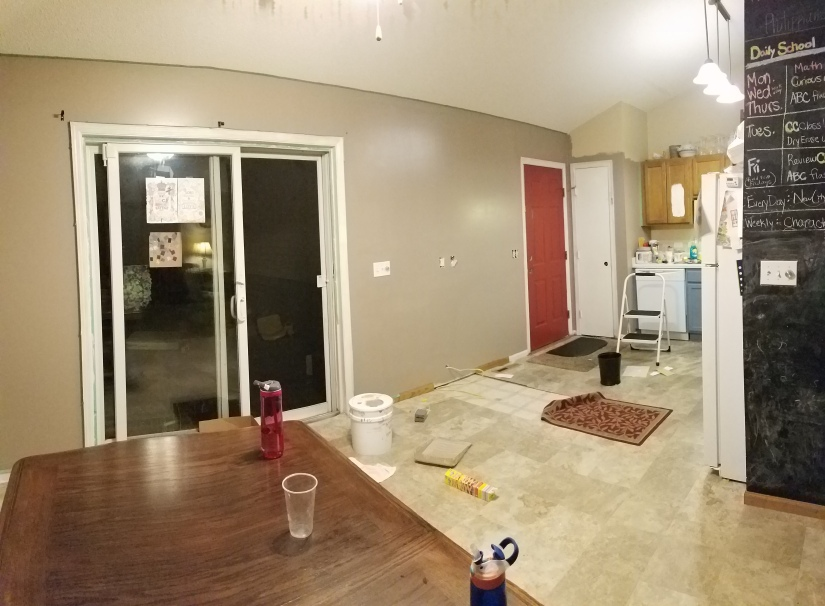Dining Room/Kitchen Project