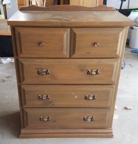 Ugly Pine Dresser